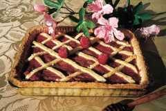 Rhubarbe en Pâte Sablée
