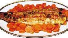 Rôti de lotte et carottes au miel