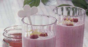 Boisson duo miel et lait