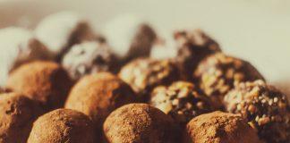 Truffes au chocolat et au miel