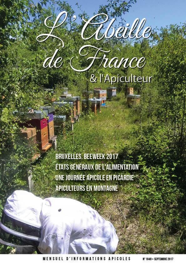 Couverture de l'Abeille de France septembre 2017