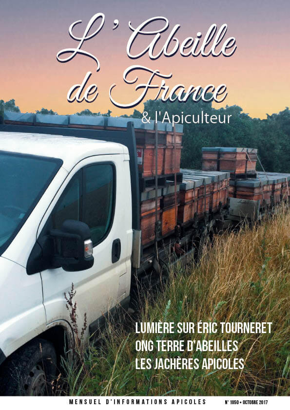 Couverture de l'Abeille de France d'octobre 2017