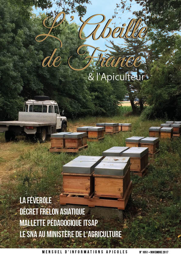 Couverture de l'Abeille de France novembre 2017