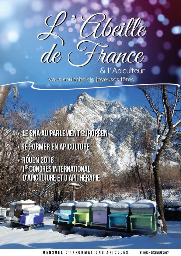 Couverture de l'Abeille de France décembre 2017