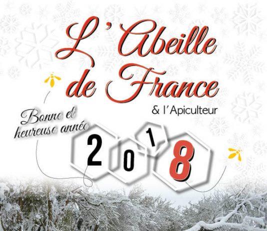 Couverture de l'Abeille de France janvier 2018