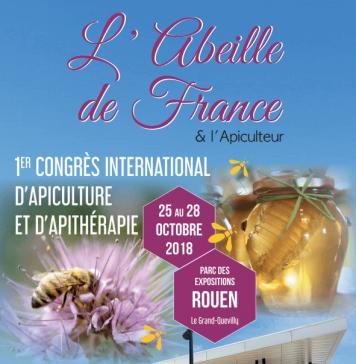Couverture du numéro sur le 1er congrès international d'apiculture et d'apithérapie